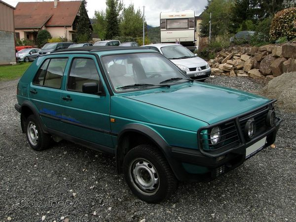 volkswagen golf 2 country 1990 1992 a
