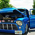 V8 brothers' summer meeting #5 - trois gm trucks of the 50's
