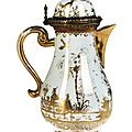 Rare meissen teapot, meissen, circa 1720