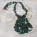 Collier Emerald vert 0-1