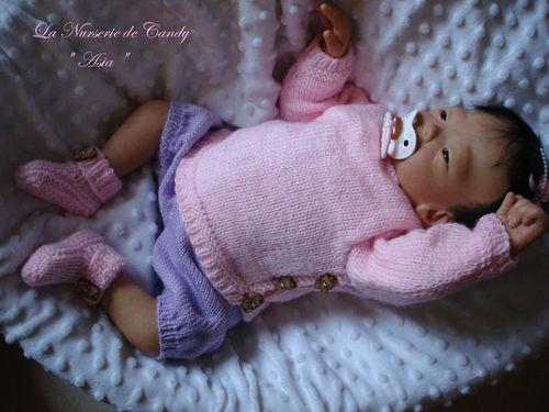 bébé asiatique reborn