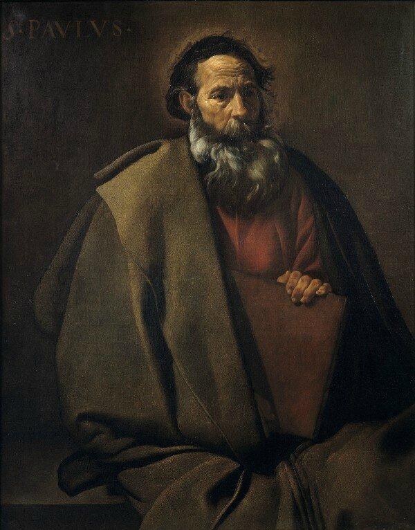 Diego Velazquez, Saint Paul, vers 1619-1620