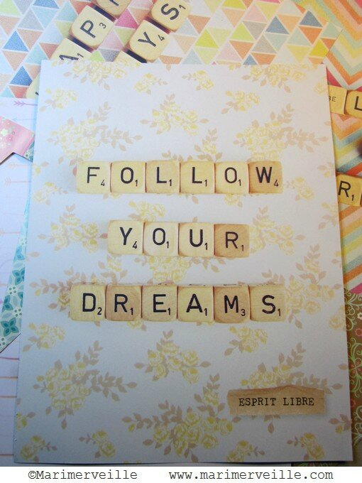 follow your dreams 2 -marimerveille
