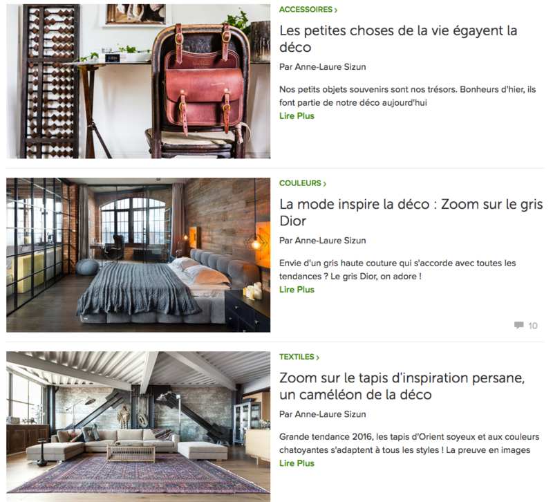 lien articles HOUZZ anne-laure sizun