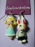 boucles alice lapin