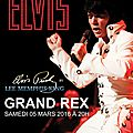 Elvis en live avec one night of elvis à paris