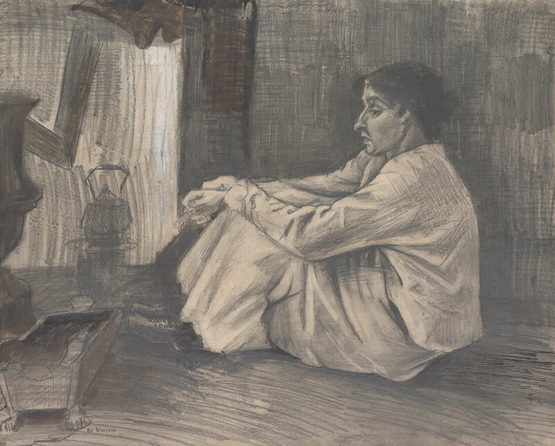 Vincent_van_Gogh__Woman__'Sien'__seated_near_the_stove