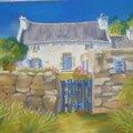 C'est une maison bleue !!!!!!