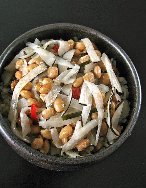 Soja Fermente Au Radis Noir Fermente Comment Manger Un