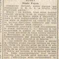 Vendredi 25 mars 1938