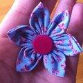 Tuto petite fleurs handmade en tissus