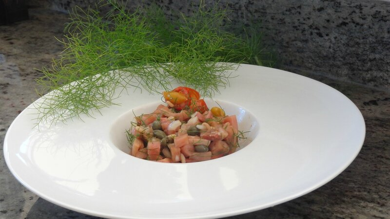 poisson tartare cabillaud 2
