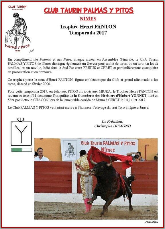 Trophée Fanton 2017