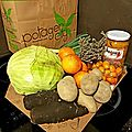 Mon panier de fruits et légumes extra-frais : potager city