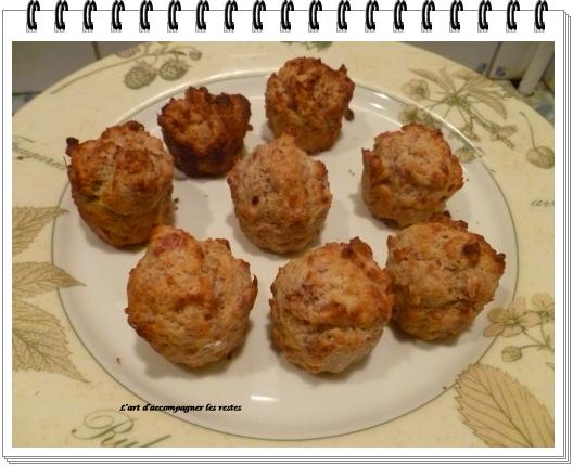 mini muffins au jambon cru1