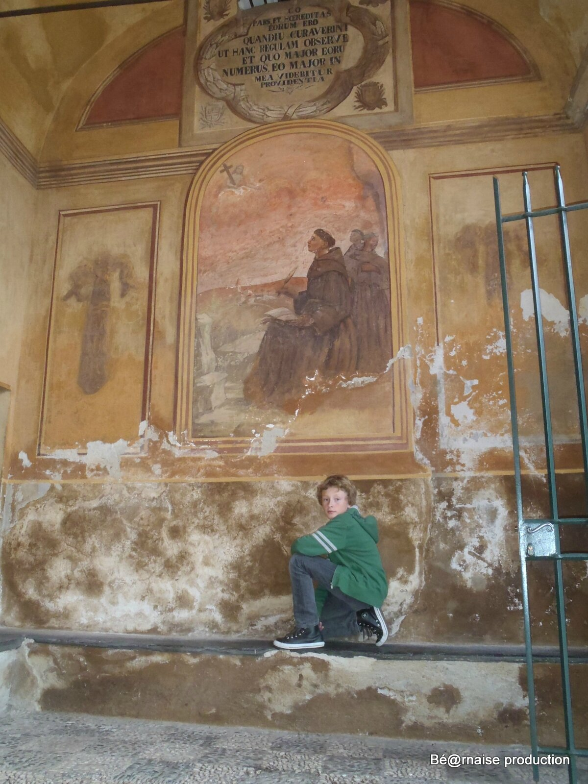 Banc monastique (Nice, octobre 2011)