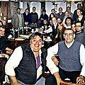 Activite des cafes ufologiques en argentine - juin 2013 pr ruben morales buéos aires et dr andres salvador corrientes