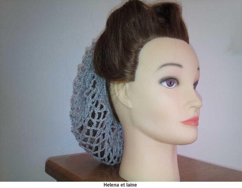 Snood hair gris4