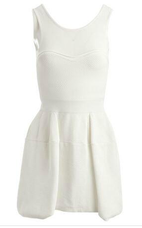 robe blanche pinko