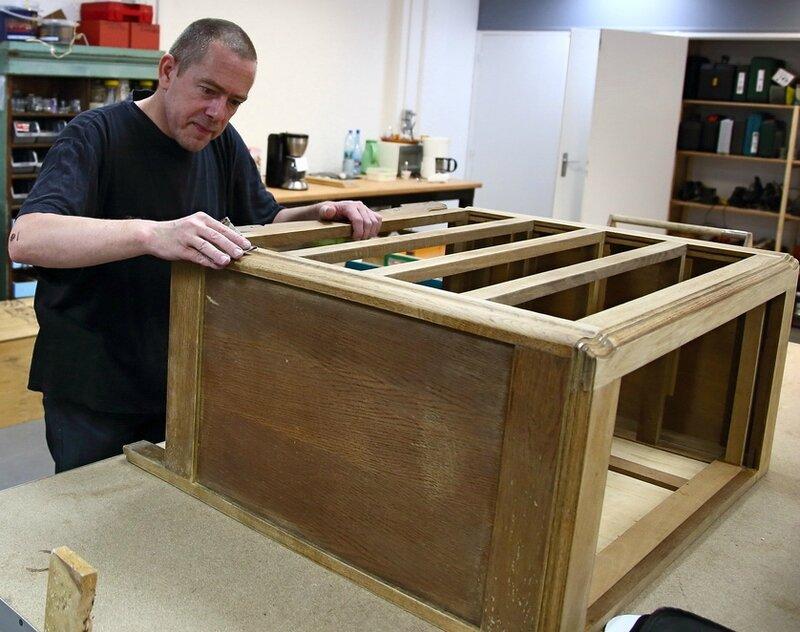 INSERTION 2016 PÔLE ÉCONOMIE SOLIDAIRE atelier bois meuble