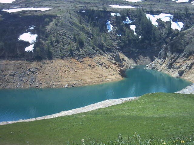 fin de lac du Mont Cenis