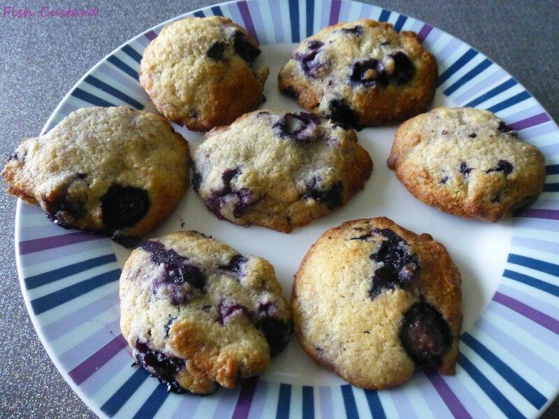 Cookies aux myrtilles (2)