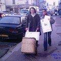 en balade dans les rues de Nemours avec notre hotte