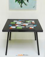 TABLE-BASSE-DESIGN-2-TABLEAU-FLEURS-PIGET-muluBrok-Vintage