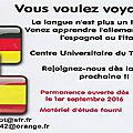 Ateliers langues