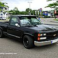 Chevrolet silverado pick-up custom de 1989 (rencard burger king juin 2012)