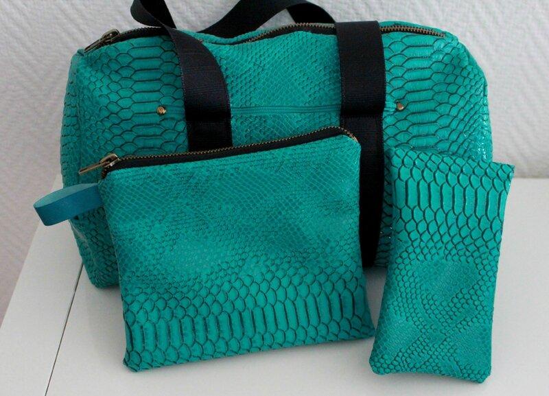 Sac vert sportswear5