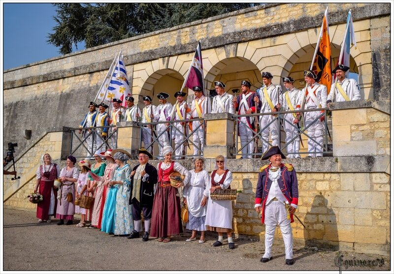 reconstitution historique rochefort fete lafayette (4)