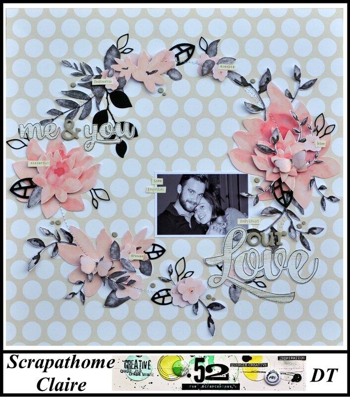 Challenge S216-couronne fleurs-scrapathome
