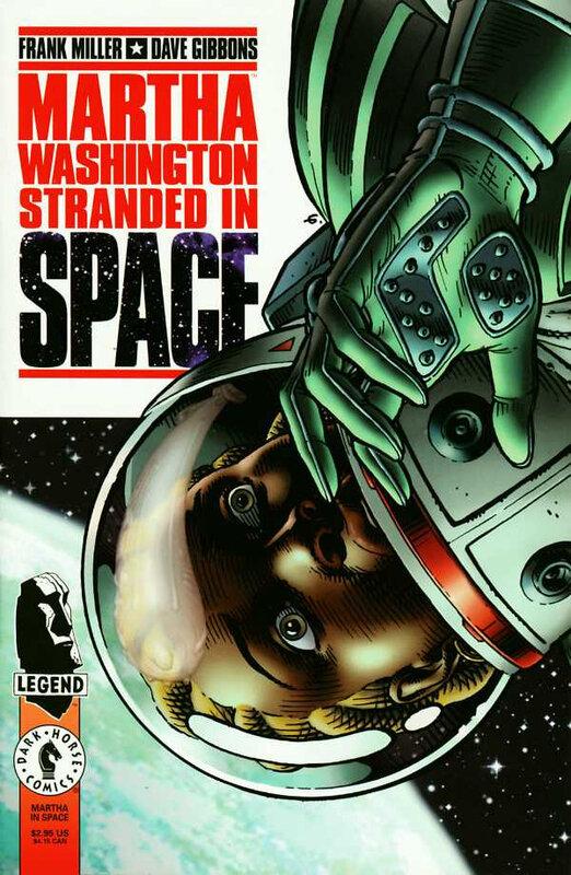 dark horse martha washington stranded in space