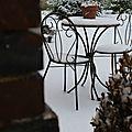Hiver, neige .....