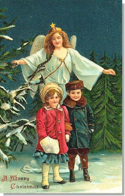 Image à mettre au pied du sapin (Noël vert)