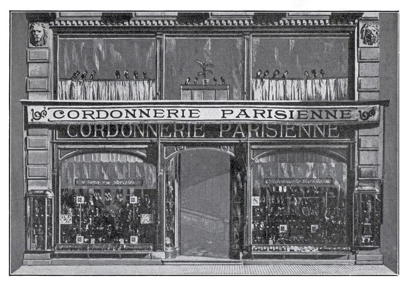 Publicité Cordonnerie Parisienne BF