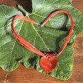 Bellière coeur rouge