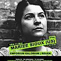 Prochain concert : mariee sioux à l'emporium galorium le 11 mai