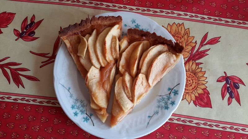 A Annick tarte aux pommes 1