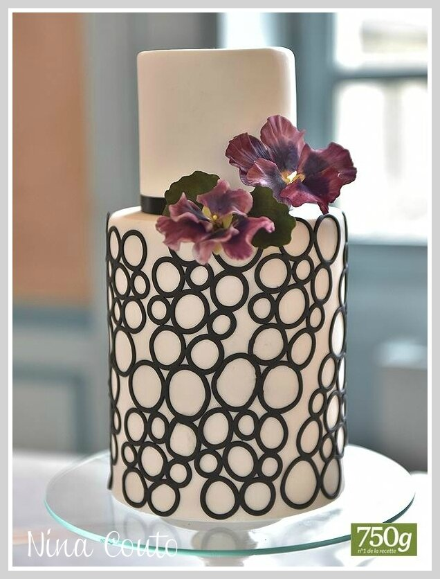 gateau mariage nimes piece montee wedding cake 2