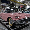 FORD Thunderbird 2door convertible avec Continental Kit 1958 Sinsheim (1)