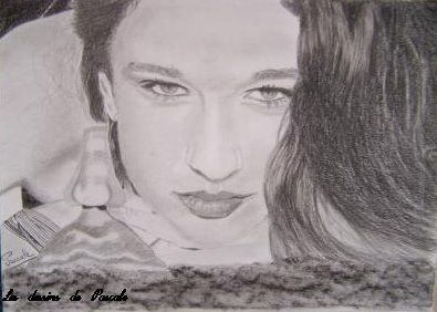 096 Portrait de ma nièce Vanessa, A4 - NON DISPONIBLE