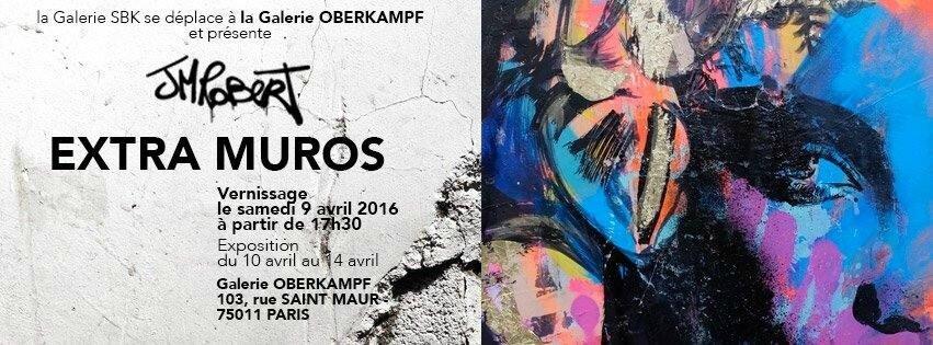 "JM ROBERT, ""Extra Muros"", le mystère d'un art urbain"
