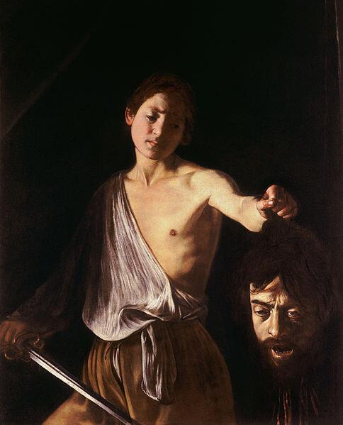 Caravage David et la tête de Goliath