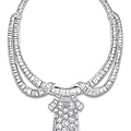 An important diamond necklace-brooch, by boucheron
