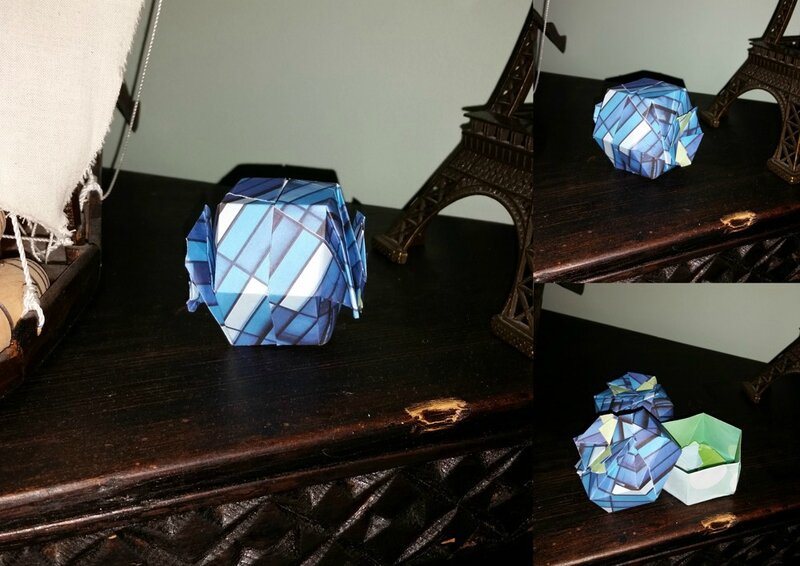 Origami boîtes 1
