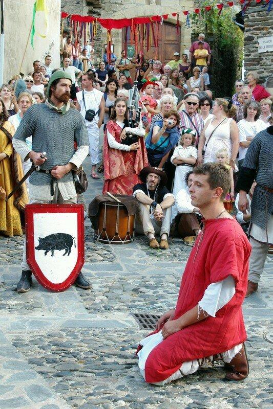A genoux chevalier