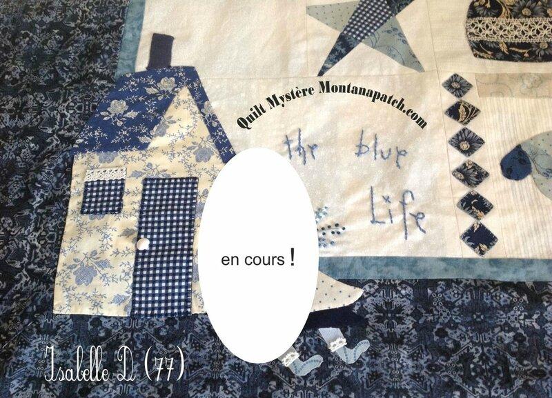 Isabelle D 77 quilt mystère montanapatch