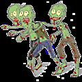 Le programme de l'invasion zombie